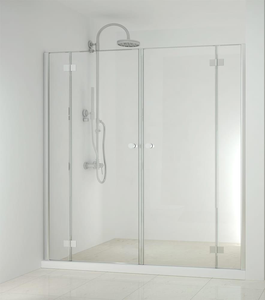 Sanotechnik - SMARTFLEX - Sprchové dvere do výklopného výklenku, 210 x 195 cm