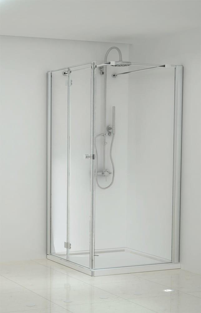 Sanotechnik - ELEGANCE - Rohový obdĺžnikový sprchový kút, ľavý, 150 x 90 x 195 cm