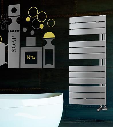 Sanotechnik - SALZBURG - Dekoratívny kúpeľňový radiátor biely 55x168 cm