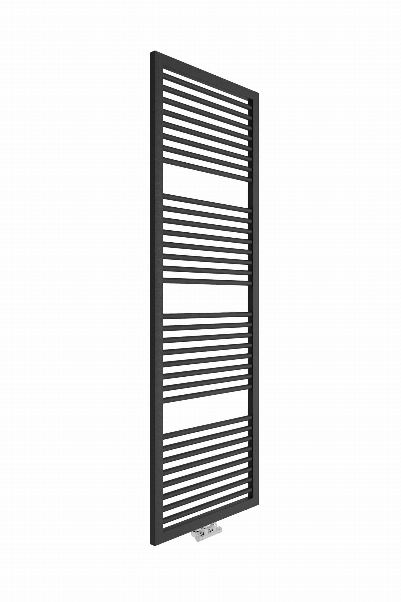Sanotechnik - RIMINI - Kúpeľňový radiátor antracit 823W 600 x 1813 mm