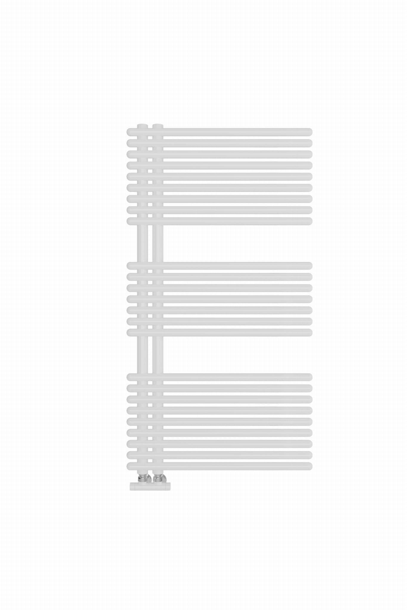 Sanotechnik - WIEN - Kúpeľňový radiátor biely 640W 60 x 113,2 cm
