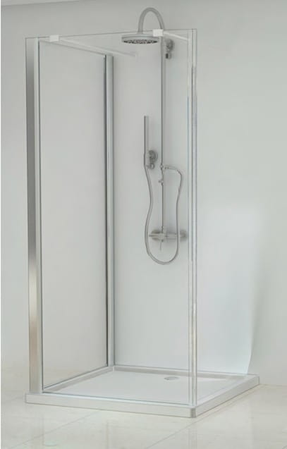 Sanotechnik - ELEGANCE - Vchodový obdĺžnikový sprchový kút 120 x 80 x 195 cm