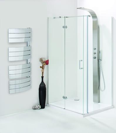 Sanotechnik - SALZBURG - Dekoratívny kúpeľňový radiátor antracit 504 W 55 x 138 cm