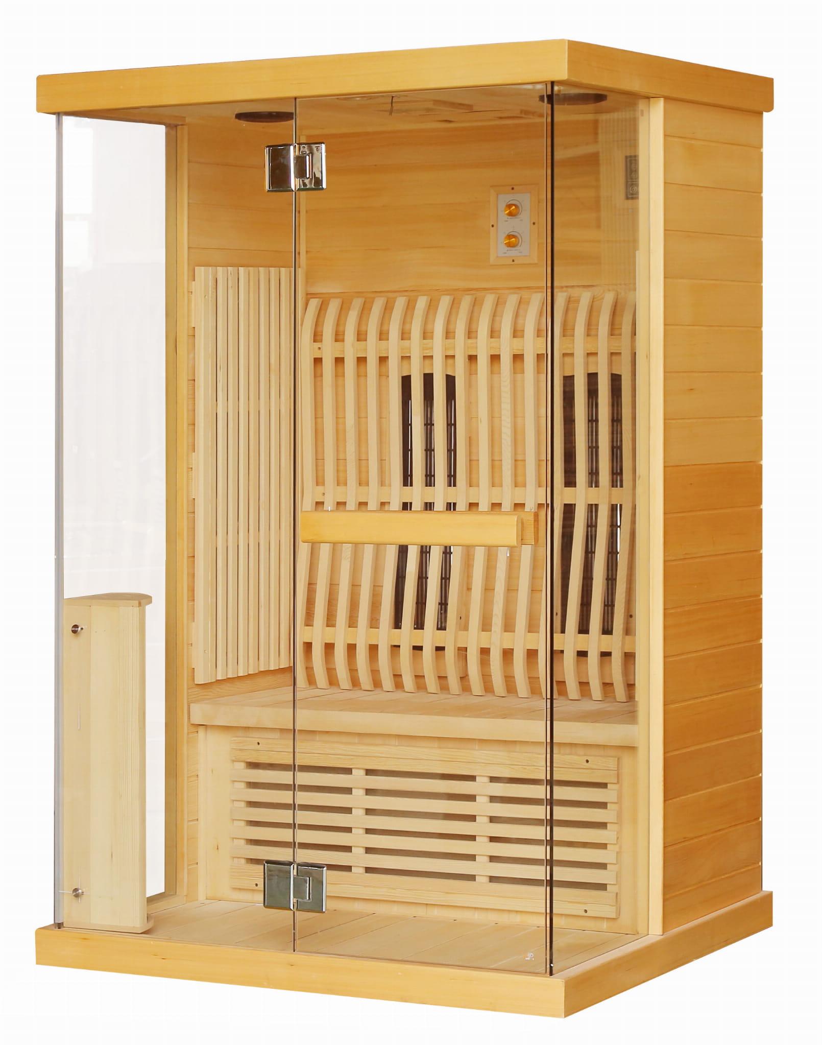 Sanotechnik - LUNA Infračervená sauna pre 2 osoby 123,6x103,6x200 cm H30330
