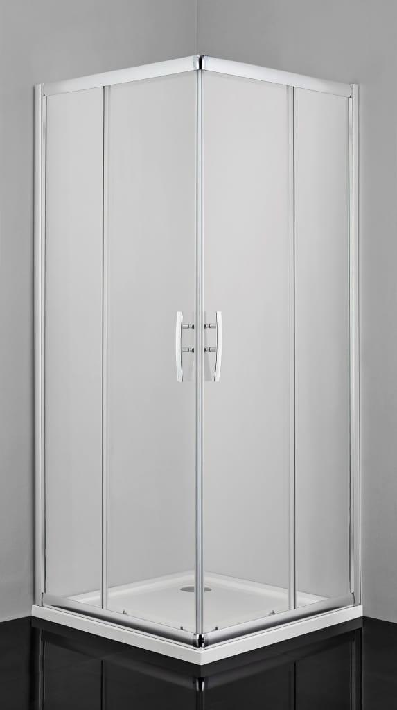Sanotechnik - PRO-LINE - Rohový štvorcový sprchový kút 90x90x200 cm, číre sklo